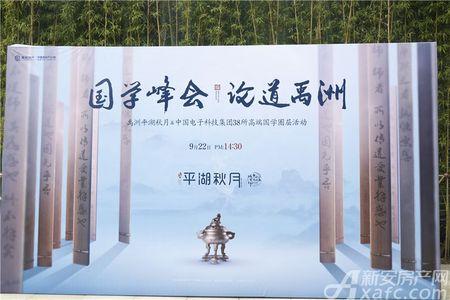 禹洲平湖秋月活动图