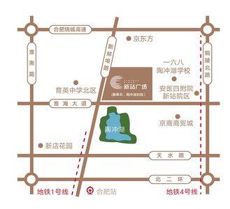 新站广场交通图