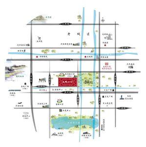 大城小院交通图