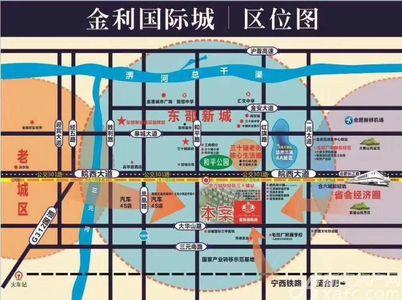 金利国际城交通图
