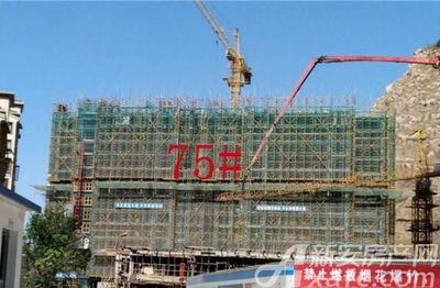 淮北凤凰城75#工程进度20181019
