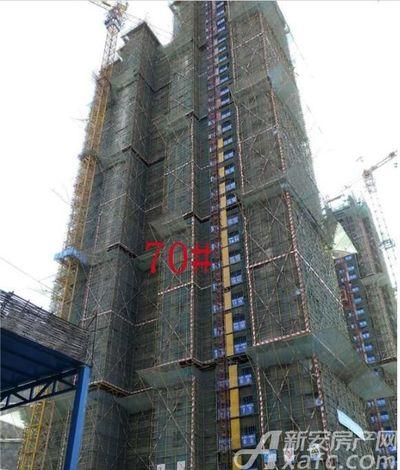 淮北凤凰城70#工程进度20181019