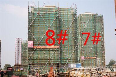 观湖花园7、8#工程进度(2018.9.20)