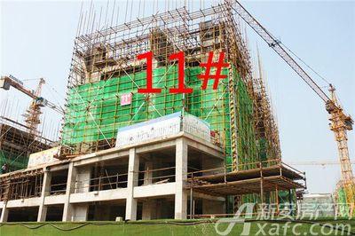 观湖花园11#工程进度(2018.9.20)