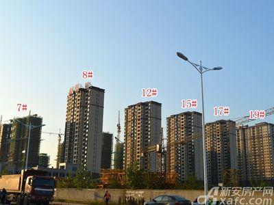 北城秀里7#、8#、12#、15#、17#、19#工程进度