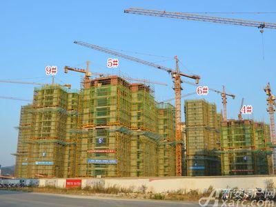 北城秀里4#、5#、6#、9#工程进度