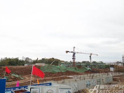 新国线·徽州小镇新国线·徽州小镇10月工程进度(2018.10.16)