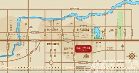万瑞璞悦东城交通图