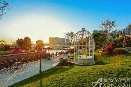 碧桂园抱龙湾实景图