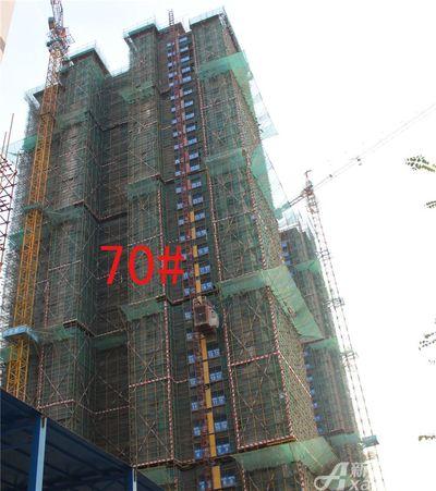 淮北凤凰城70#工程进度20181114