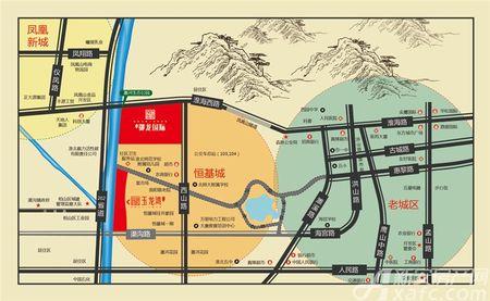恒基御龙国际交通图