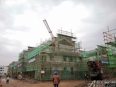 新国线·徽州小镇新国线·徽州小镇11月工程进度(2018.11.13)