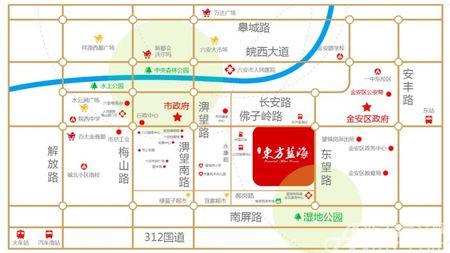 淮矿东旺街交通图
