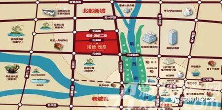 中铁诺德交通图