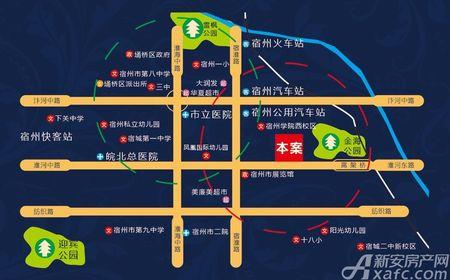 长城佳苑交通图