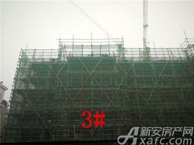 长城佳苑3栋1月工程进度