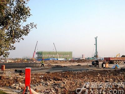 华润阜阳中心工程进度