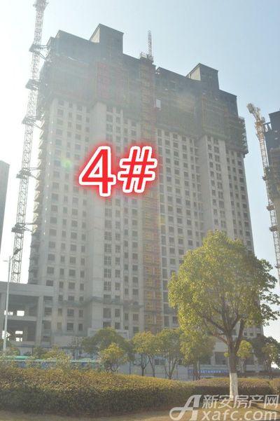 金瑞中心城2019年1月 4#楼施工