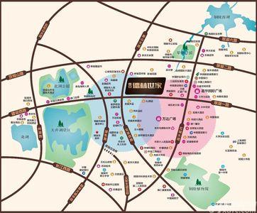 富安德林世家交通图