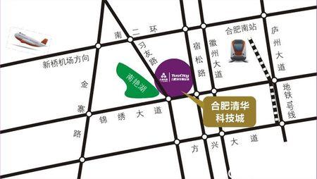 合肥启迪科技城·水木园交通图