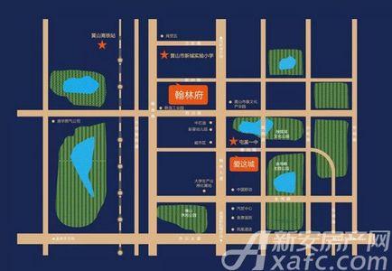 联佳·翰林府交通图
