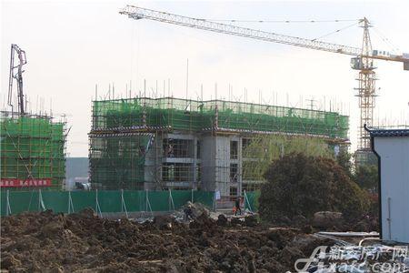 中南樾府工程进度