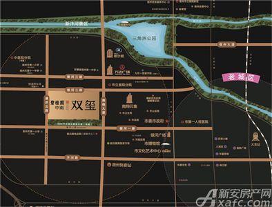 碧桂园中南·双玺交通图