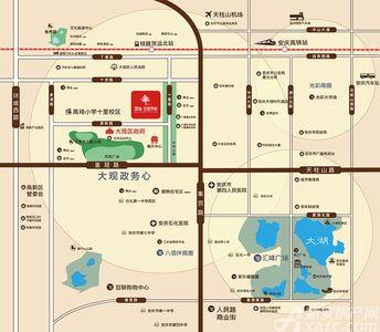 置地·百悦华府交通图