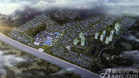 绿城•黄山桃李春风效果图