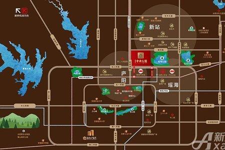 高速中央公园交通图