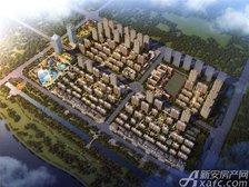 汴河小镇鸟瞰图