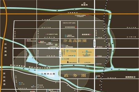 汴河小镇交通图
