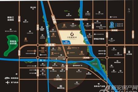 辰景凤凰熙岸交通图