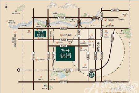 宁国燕津湖畔交通图