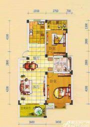 绿源聚龙湾B3户型2室2厅77.43㎡