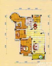 绿源聚龙湾LD2户型3室3厅103.86㎡
