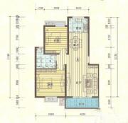 滨湖星辰A1户型2室2厅84㎡