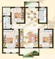 金泰山水文化广场A8户型3室2厅109㎡