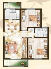 金泰山水文化广场A5户型2室2厅89㎡