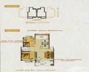 龙登凤凰城B户型2室2厅90.48㎡