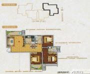 龙登凤凰城K户型3室2厅115.71㎡