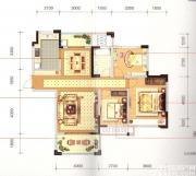 长宏御泉湾8#E3户型3室2厅112㎡