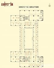 圣联时代广场2层商业平面图