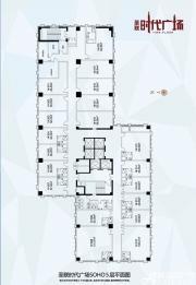 圣联时代广场5层SOHO平面图