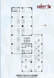 圣联时代广场6-9层SOHO平面图