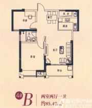 都市嘉园4#B2室2厅85.49㎡