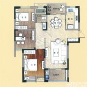 天景庄园E33室2厅105㎡