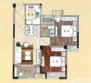 天景庄园G22室2厅75㎡