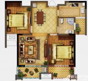 禹洲翡翠湖郡G2户型2室2厅84.24㎡