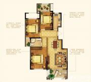 禹洲中央广场洋房F6户型3室2厅113㎡